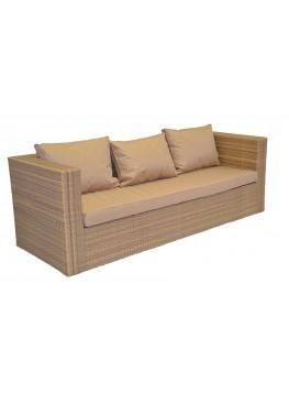 Диван Квадро меланж с подушками стандарт