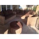 Мебель из искусственного ротанга - идеальный выбор для открытой террасы
