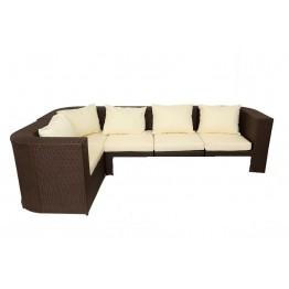 Диван Фелисити угловой модульный с подушками стандарт