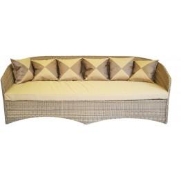 Диван Этрэнтэ меланж с подушками люкс