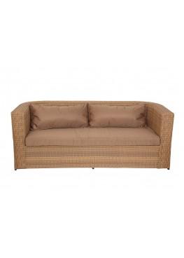 Диван Ареджа 1 меланж с подушками стандарт