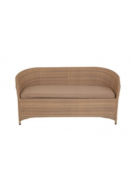 Диван Брауни люкс меланж с подушками стандарт