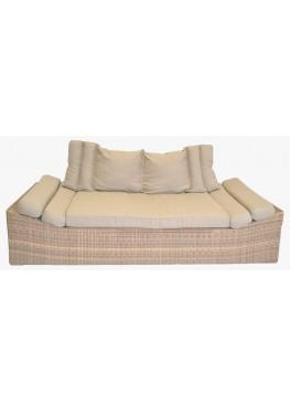 Диван Эмпорио меланж с подушками люкс