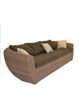 Диван Лаунж меланж с подушками стандарт