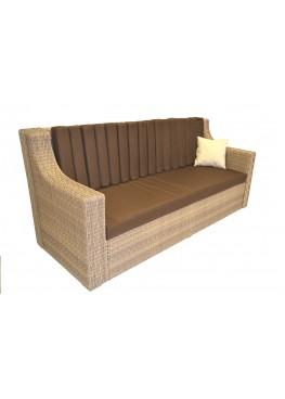 Диван Люкс меланж с подушками люкс