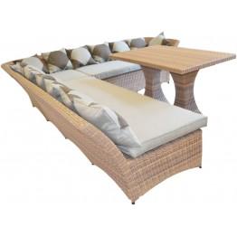Комплект Рондини меланж с подушками люкс