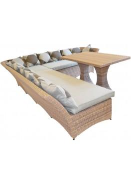 Рондини меланж с подушками люкс