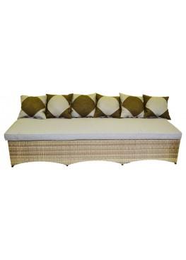 Центральный модульный элемент Рондини меланж с подушками люкс