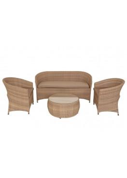 Брауни меланж люкс 1 с подушками стандарт