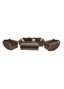 Лаунж меланж с подушками люкс