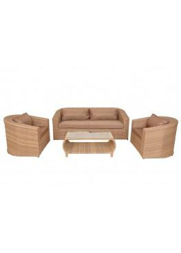 Комплект для отдыха Аристо меланж  с подушками стандарт