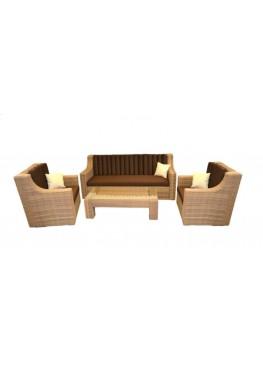 Комплект для отдыха Люкс меланж с подушками люкс