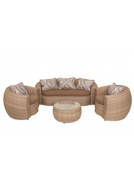 Санни меланж  с подушками люкс
