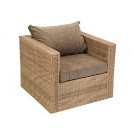 Кресло Венеция меланж с подушками стандарт