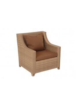 Кресло Ника меланж с подушками стандарт
