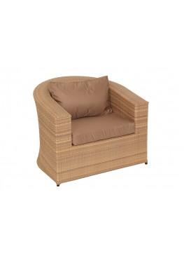 Кресло Комфорт меланж с подушками стандарт