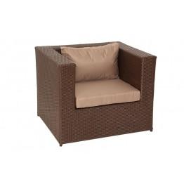 Кресло Квадро с подушками стандарт