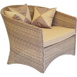 Кресло Этрэнтэ меланж с подушками люкс