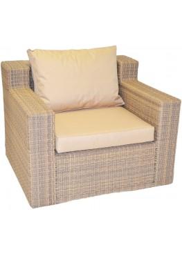 Кресло Респект меланж с подушками стандарт