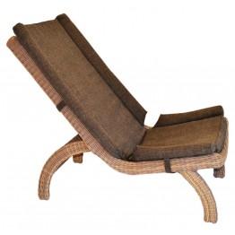 Кресло Феерия меланж с подушкой люкс