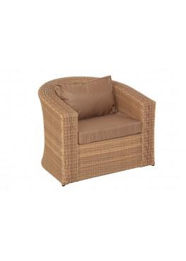 Кресло Ареджа 2 меланж с подушками стандарт