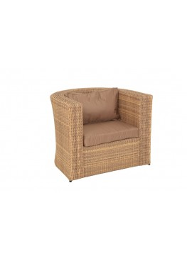 Кресло Ареджа 1 меланж с подушками стандарт