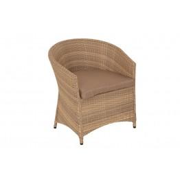 Кресло Брауни люкс меланж с подушками стандарт