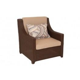 Кресло Лео с подушками люкс