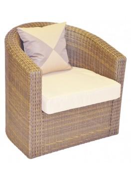 Кресло Ареджа мини меланж с подушками стандарт
