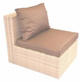 Модуль центральный Фелисити меланж с подушками стандарт