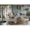 Мебель из ротанга и интерьер в стиле бохо.
