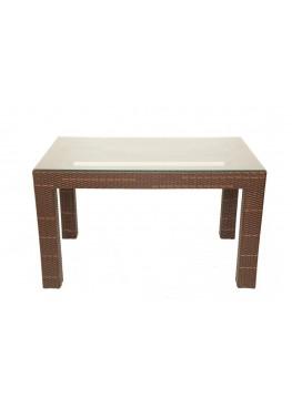 Стол Комфорт стандарт с каленым стеклом