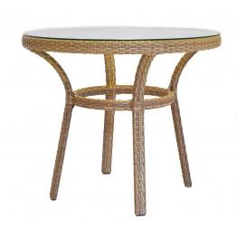 Стол Джиорно меланж с каленым стеклом